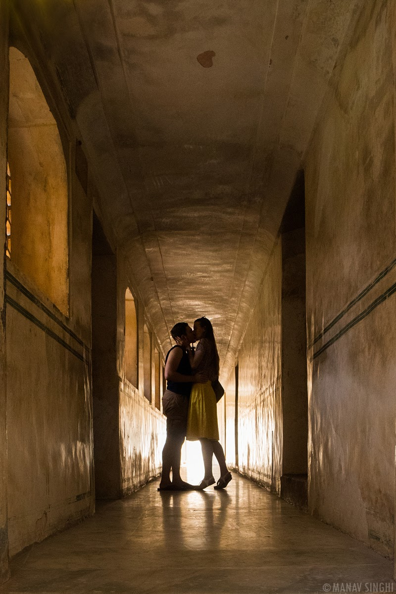 A Kiss at Amer Fort Jaipur