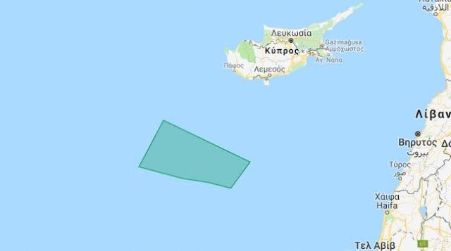 Με Navtex διεκδικεί αρμοδιότητες μέχρι και νότια της Πάφου η Τουρκία