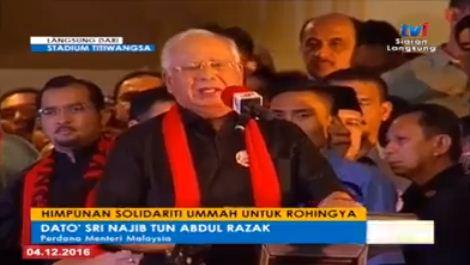Perdana Menteri Malaysia Himpun Solidaritas Untuk Muslim Rohingnya