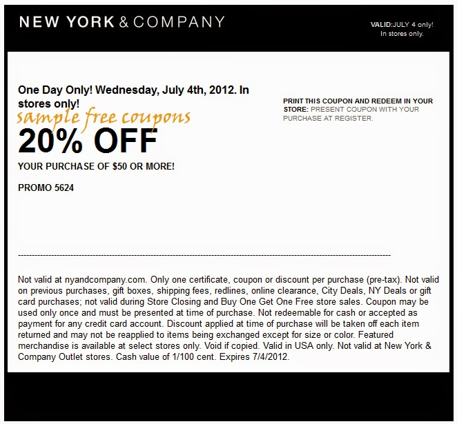 new york and company coupons september 2014. Black Bedroom Furniture Sets. Home Design Ideas