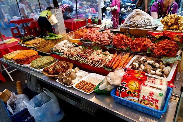 supermarket korea