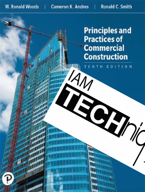 Principles and Practices of Commercial Construction 10 Edition