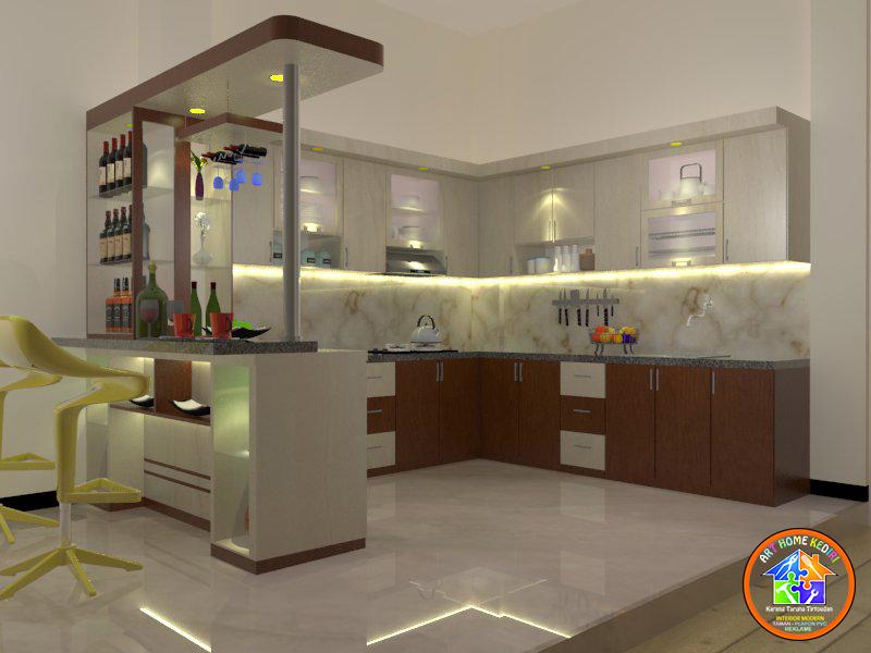Model Kitchen Set Dan Mini Bar