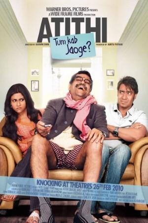 Download Atithi Tum Kab Jaoge? (2010) Hindi Movie 720p DVDRip 950MB