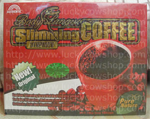 body language slimming coffee