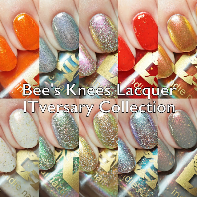 Bee's Knees Lacquer ITversary Collection