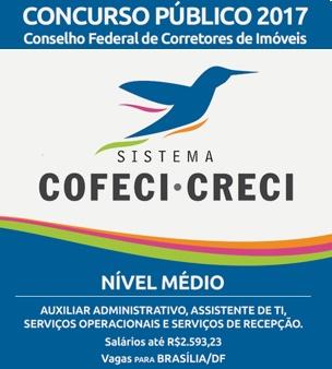 Concurso COFECI 2017