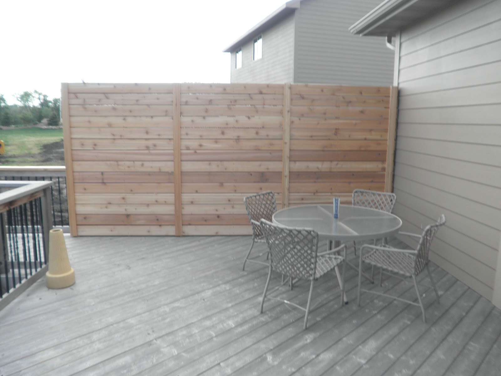 Privacy Wall Fence Deck And Drive Solutions Iowa Builder