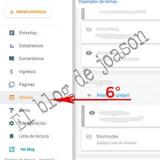 Shortcodes Blogger al estilo de WordPress damos a diseño