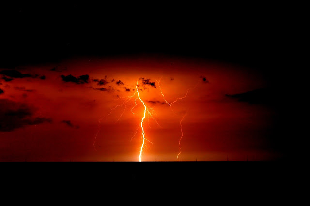 Lightning over Lake Maracaibo