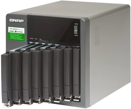 Review QNAP TVS-882ST3-i7-16G-US High Speed 8 Bay NAS
