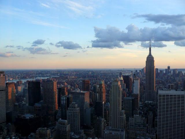 Vistas de Manhattan desde el TOR