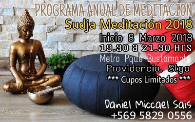 """PROGRAMA ANUAL DE MEDITACION """"SUDJA MEDITACION"""""""