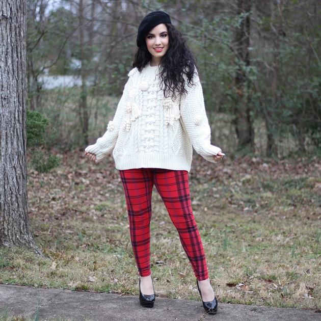 SHEIN Cream Sweater
