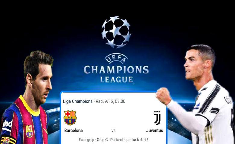 Barcelona vs Juventus Berebut Puncak Klasemen Liga Champions