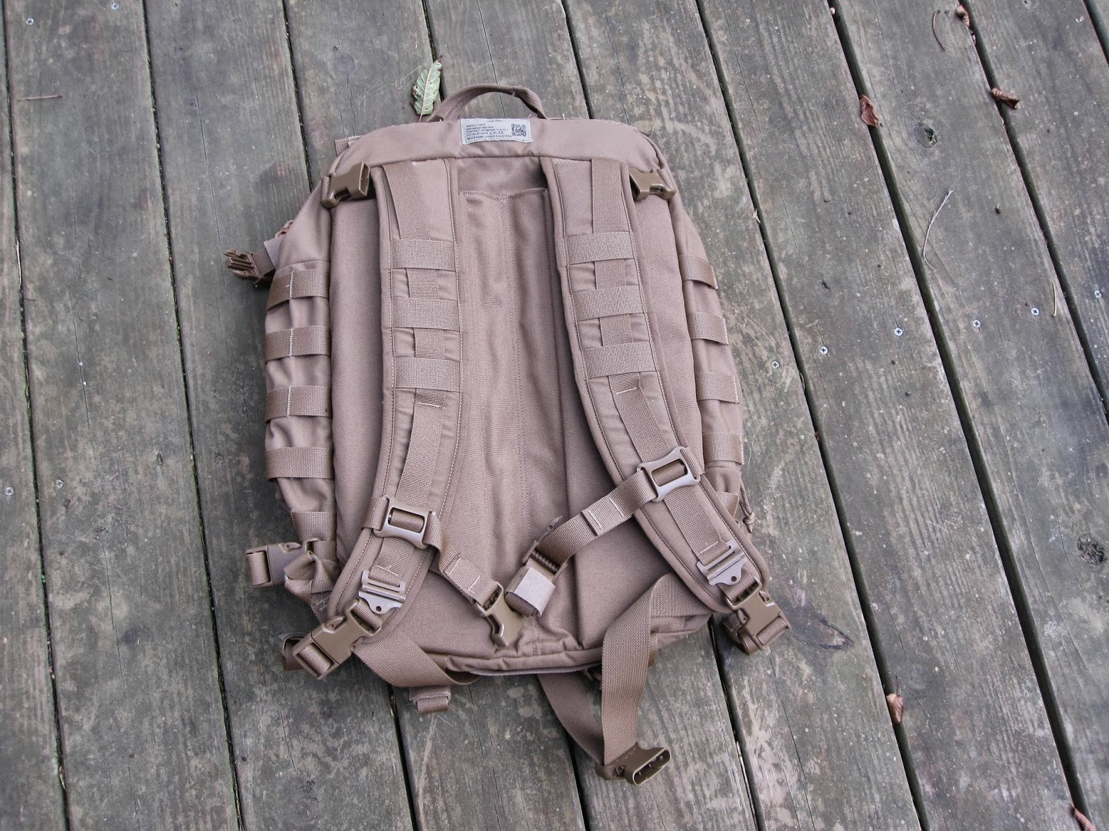 The Outdoor Gear Review Filbe Assault Pack Review