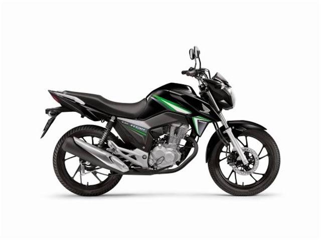 Honda CG 160 Titan 2017 - Preta