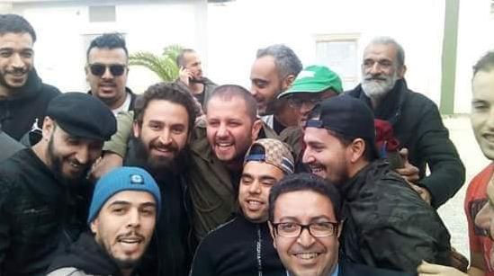 إطلاق سراح الممثل عبد القادر جريو