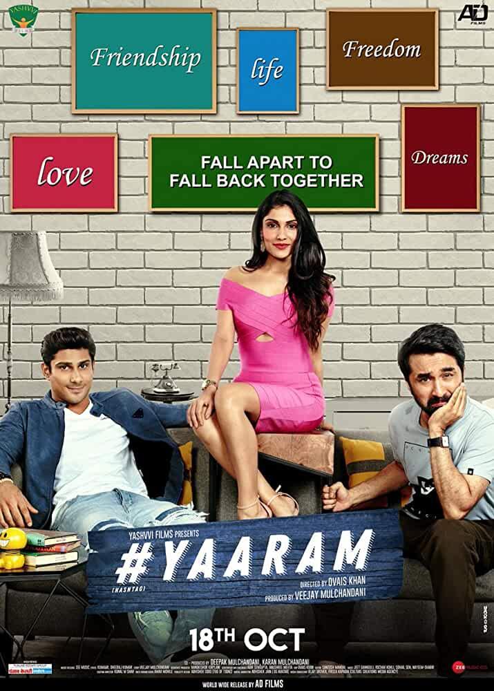 Yaaram 2019 Hindi 720p 900MB HDRip