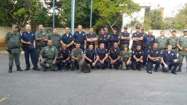 GCMs de Santo André concluem o 5° Curso de Guarda Ambiental de Guarulhos
