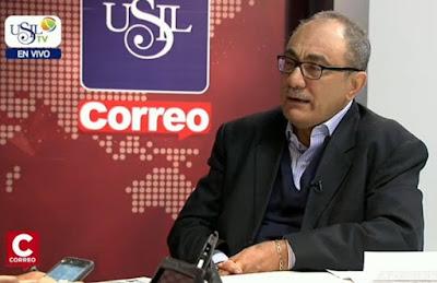 El presidente de la comisión de educación de la Cámara de Comercio de Lima Idel Vexler presentó su lista de pedidos al próximo gobierno