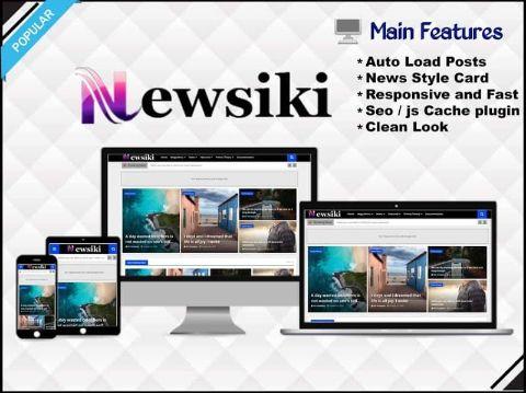 Newsiki - News & Responsive  Blogger Template - Responsive Blogger Template