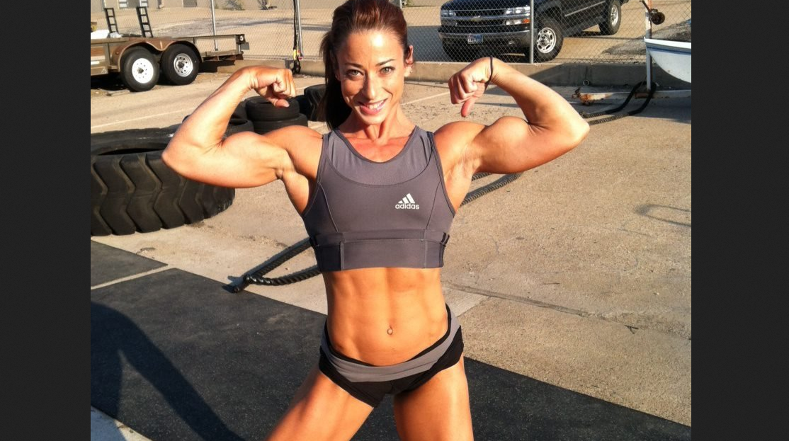 Jodi Leigh Miller American female bodybuilder
