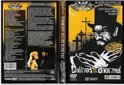 Filme Delírios de Um Anormal DVD Capa