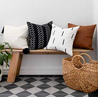 Neutral Boho Inspired Pillow Covers