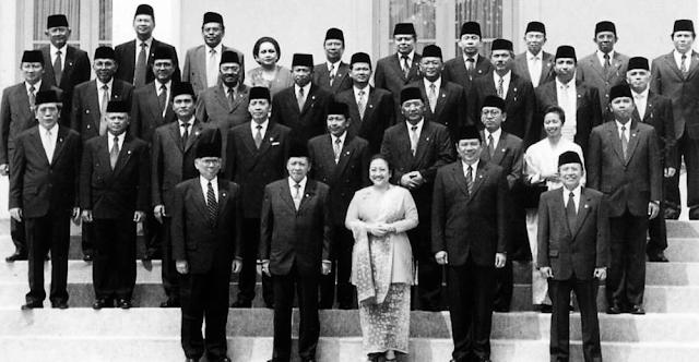 Foto Kabinet Gotong Royong