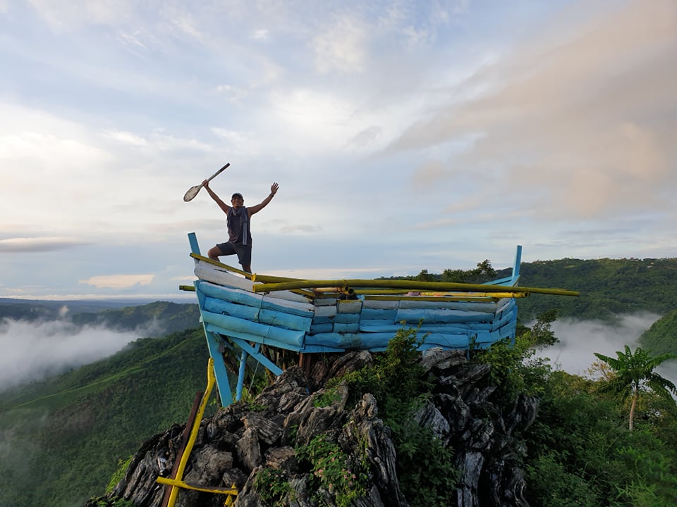 Noah's Ark Arc Sea of Clouds Mt. Kulis in Tanay Rizal Philippines