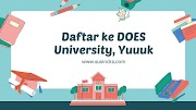 Daftar ke DOES University, Yuuuk
