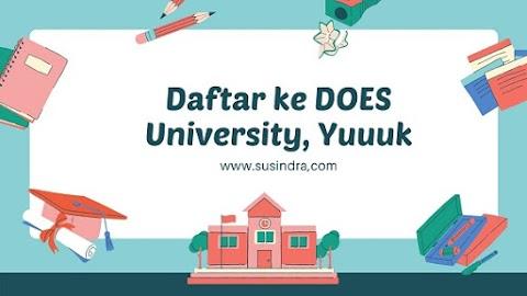 Daftar ke DOES University, Yuuuk