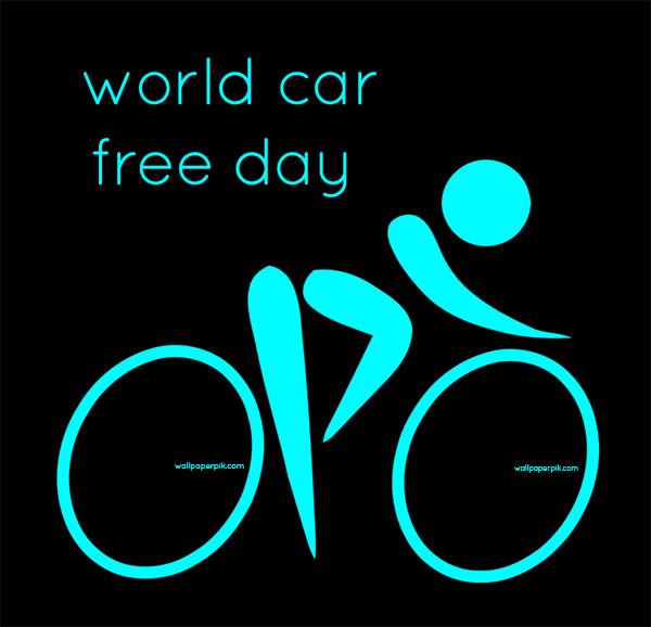 world car free day image photo theme
