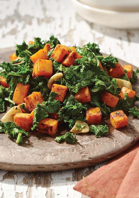 One of the best parts of beingness a fellow member of the allergy community over the past times several yea Kale together with Sweet Potato Saute from The Paleo Diabetes Diet Solution