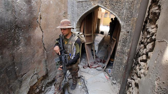 Remaining Daesh Takfiri terrorists 'fight to death' in Mosul's Old City: Iraqi army