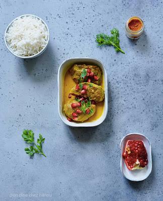 sauté de curry , plat familial , joues de porc , suepr facile , cuisine familialle
