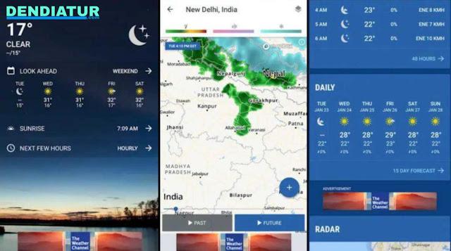 Widget Cuaca Gratis Terbaik Untuk Android 2019