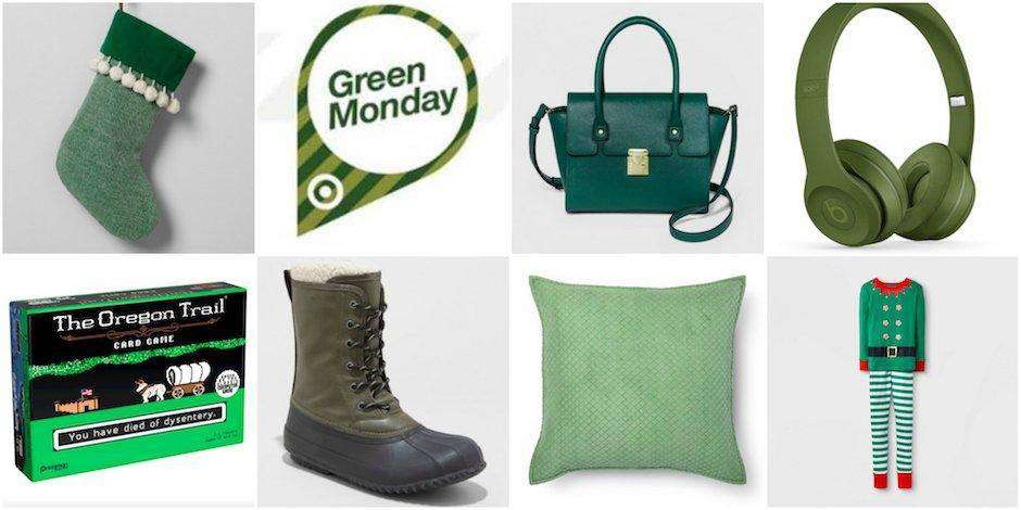 Green Monday Wishes Sweet Images