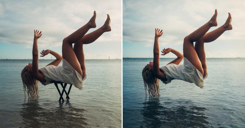 Rahasia Foto Levitasi di Atas Air