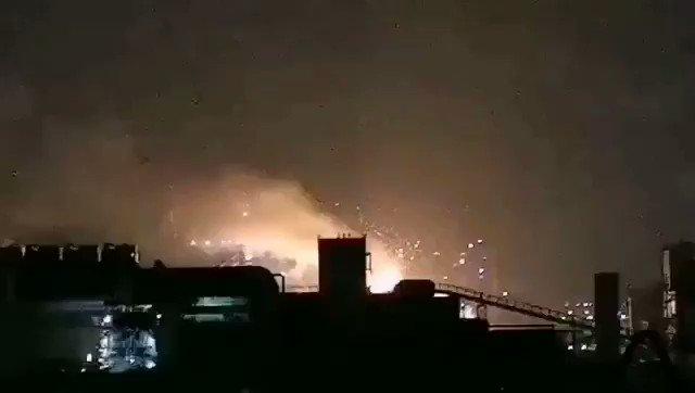 Thảm họa liên tiếp: video nổ lò thép ở Thượng Hải, hỏa hoạn tại Giang Tô