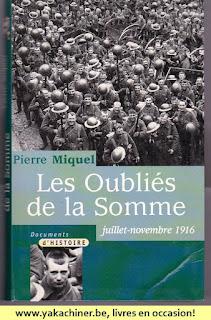 Pierre Miquel, les oubliés de la somme, 2001