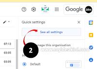 tetapan email template