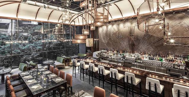 Thiết kế nhà hàng Ammo Hongkong