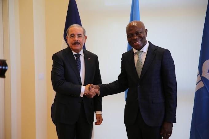 Danilo Medina y Gilbert Houngbo fortalecen alianza gobierno dominicano y FIDA para impulsar desarrollo agrícola