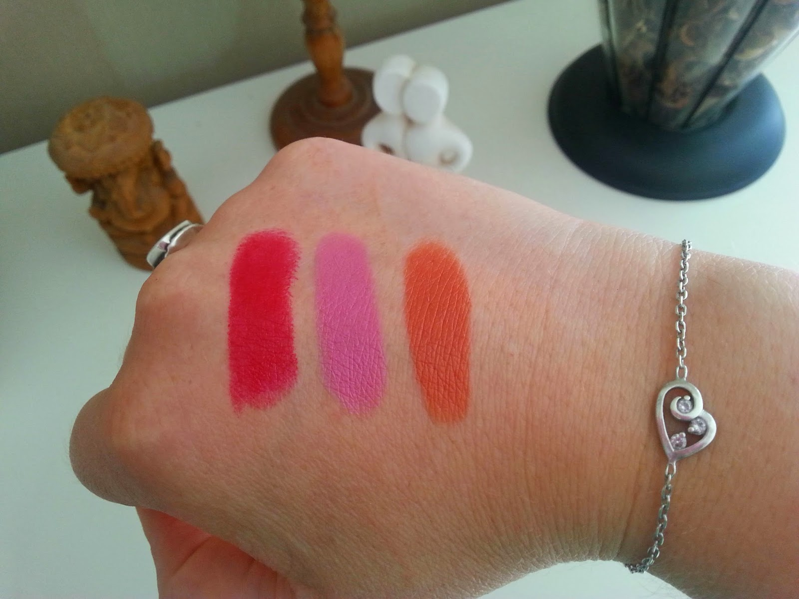 Eyes Lips Face, Captivating, Classy, Fearless, Swatches