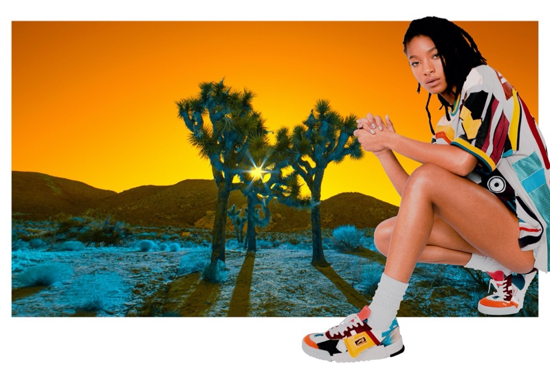 Willow Smith takes the spotlight for Onitsuka Tiger fall-winter 2020 campaign.