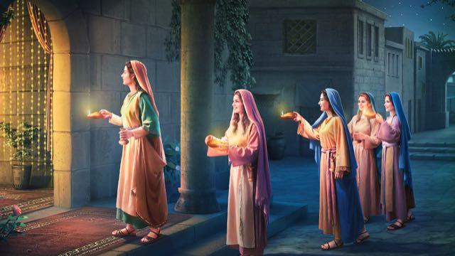 ,כנסיית האל הכול יכול,העלמות החכמות