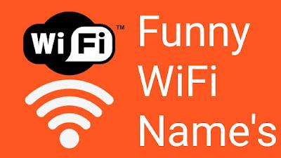 Funny Name's Of WiFi