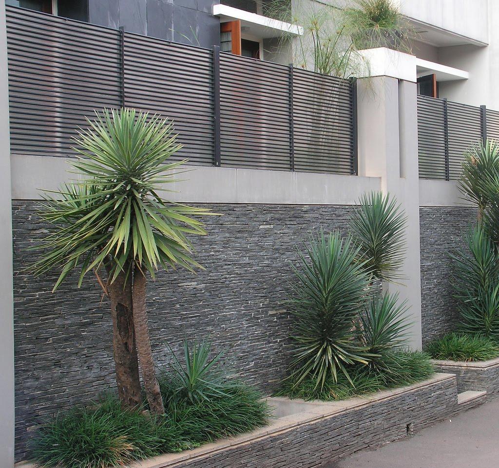 Gambar Taman Dan Pagar Rumah Minimalis Destaman